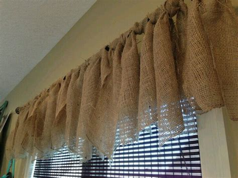 burlap curtains diy 17 best ideas about burlap window treatments on pinterest