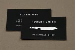 chef business cards 10 creative chef business card exles mow design