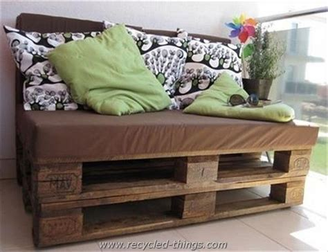 how to make sofa from pallets upcycled wooden pallet plans recycled things