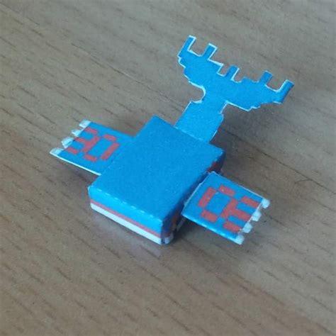Kyogre Papercraft - papercraft mini kyogre
