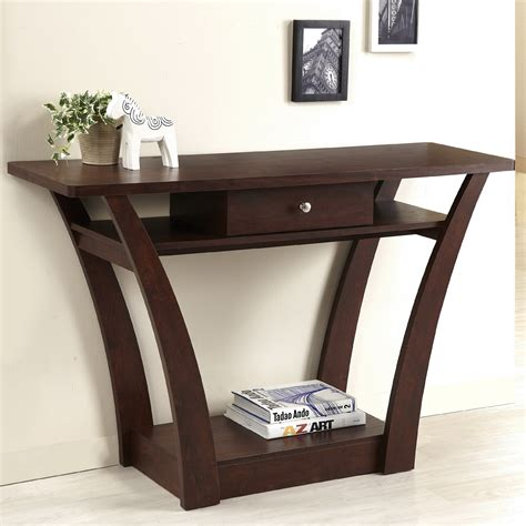 Modern Entryway Table Enitial Lab Ynj 117 4 Lita Modern Console Table Atg Stores