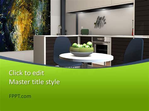 interior design powerpoint template  powerpoint