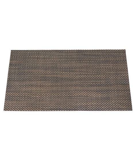 Pvc Mats decorika brown pvc table mat buy decorika brown pvc table mat at low price snapdeal