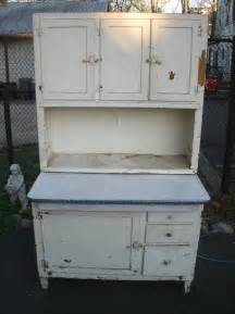 Antique Hoosier Kitchen Cabinet Antique Shabby Chic Style White Wash Distressed Hoosier Cabinet