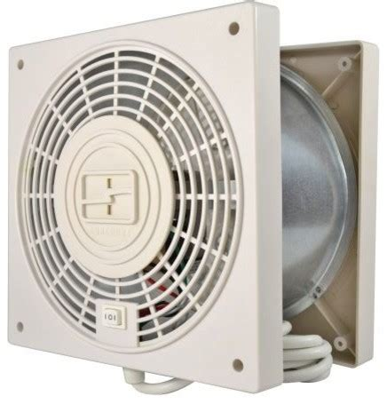 suncourt 8 in hardwired through wall fan suncourt thruwall 2 speed with airflow adapter room to
