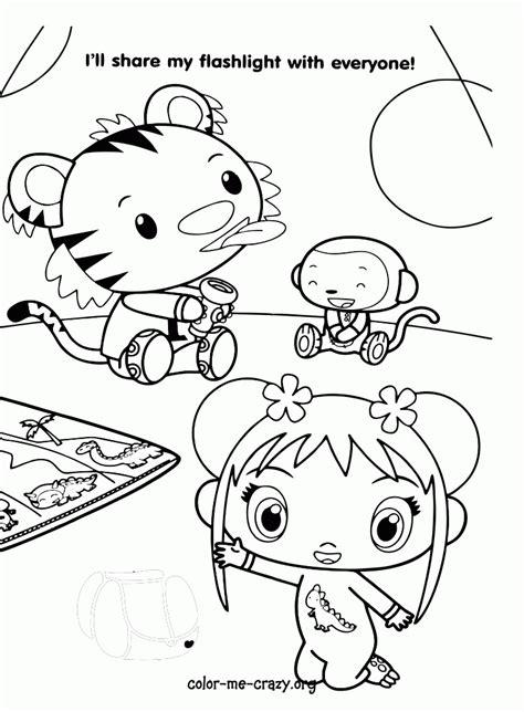 ni hao kai lan printable coloring pages coloring home