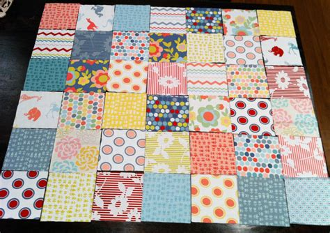 Patchwork Coverlet - the story of a patchwork quilt