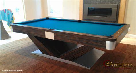 contemporary pool tables contemporary pool tables custom pool tables modern