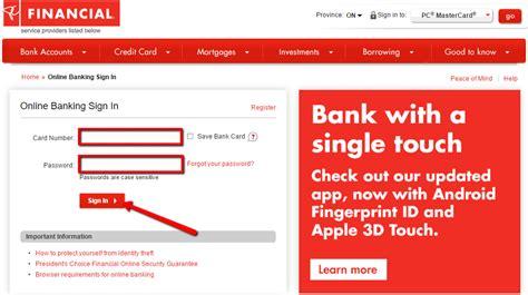 us bank banking service president s choice bank banking login cc bank