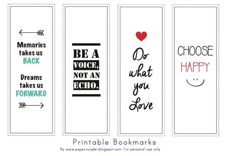 free printable bookmarks with quotes cute printable bookmarks with quotes yspages com