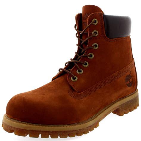 mens boots 12 mens timberland classic 6 premium nubuck lace up smart