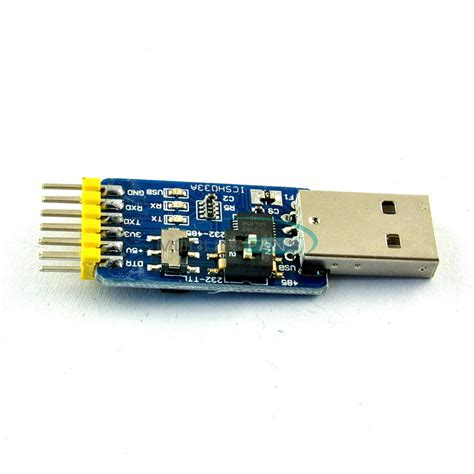 Usb To Ttl Type Cp2102 Module cp2102 usb to ttl rs232 usb ttl to rs485 convert 6 in 1 convert module us ebay