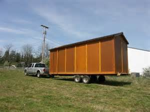 8x24 storage shed on wheels non warping patented