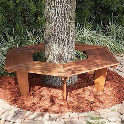 wood tree bench better home improvement gadgets reviews part 849