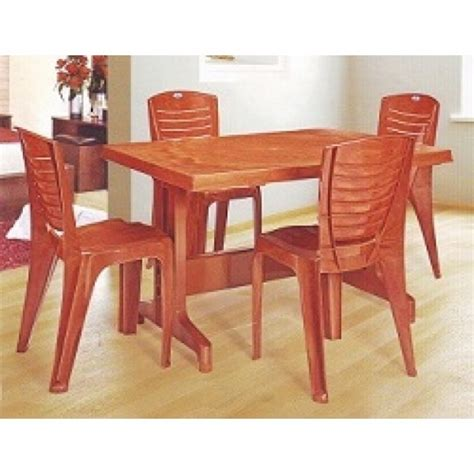 Nilkamal Furniture Price List Dining Table Nilkamal Plastic Dining Table Set Price Modern Furnitures