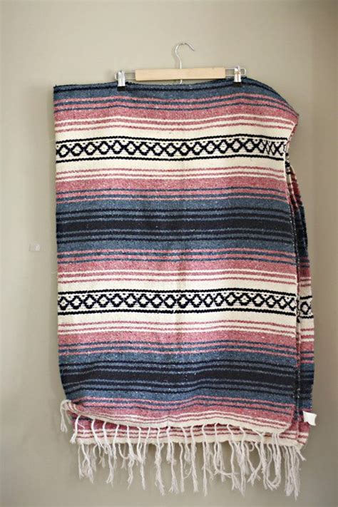 tribal pattern blanket vintage banket mexican blanket tribal blanket aztec
