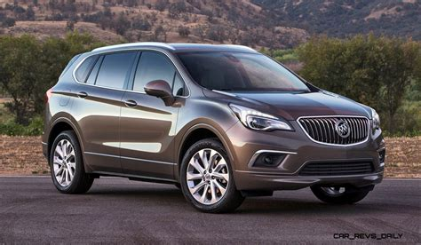 2016 buick envision is new 5 seat crossover standard