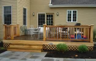 simple deck ideas decks design build adding a deck western