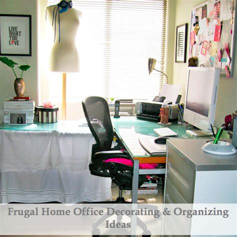 frugal home decorating home office decorating ideas