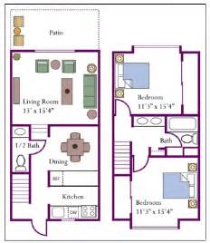 2 story townhouse floor plan ahomeplan com one story townhome floor plans trend home design and decor