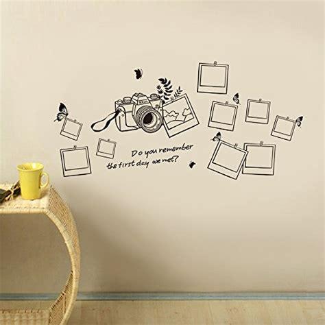 cornici per scritte walplus adesivo da parete con motivo a forma di albero e