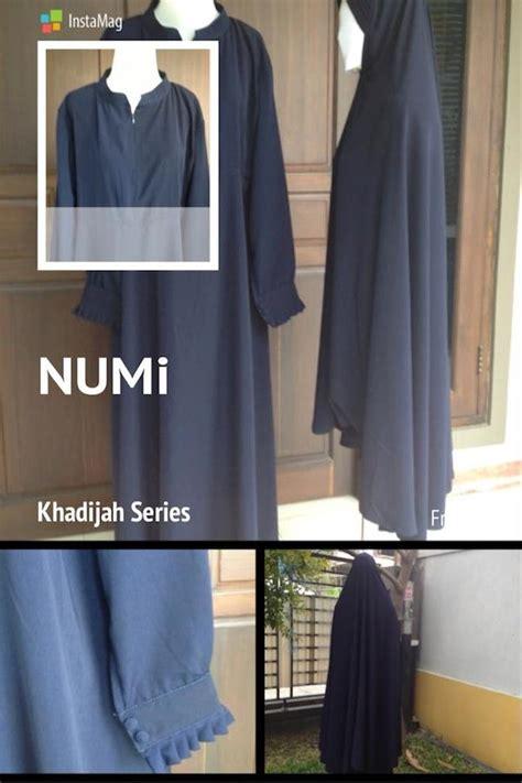 Anida Collection Setelan Gamis Muslimah Jilbab Khadijah Syari Ori numi collection toko busana muslimah syar i di pontianak