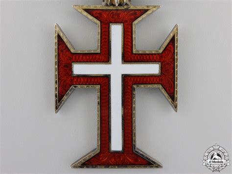 a portuguese military order of christ by rothe commander