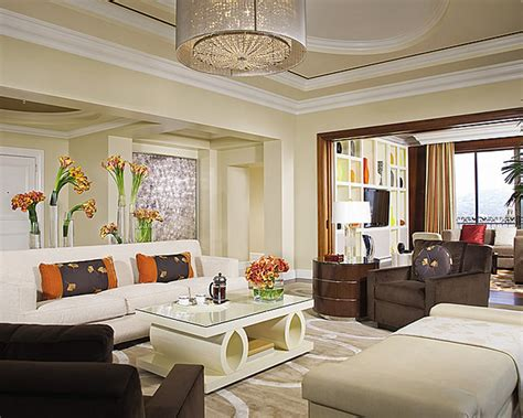 Hotel Living Room Design by Luxury Penthouse Suite Living Room Interior Design Of