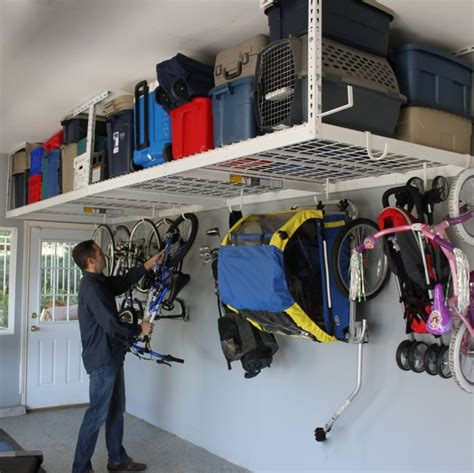Garage Organization Overhead Garage Organization Tips 18 Ways To Find More Space In