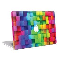 Apple Aufkleber Regenbogen by 3d Cubes Regenbogen Macbook Skin Aufkleber