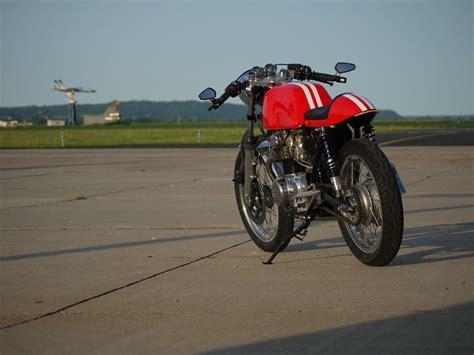 1973 honda cb350 cafe racer with 650r motor auction 1973 honda cb350 cafe racer