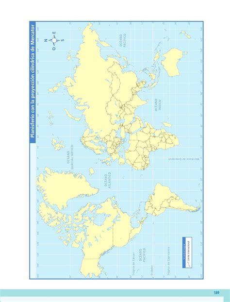 mapa de geografia de 5 grado quinto geograf 237 a anexo de mapas