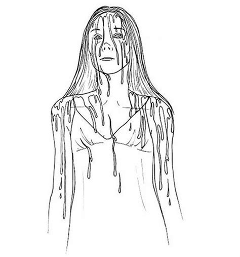 horror movie coloring pages coloring pages