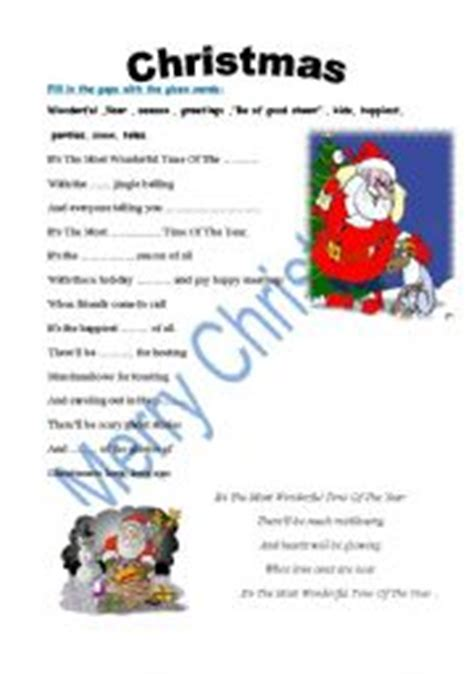 english teaching worksheets christmas