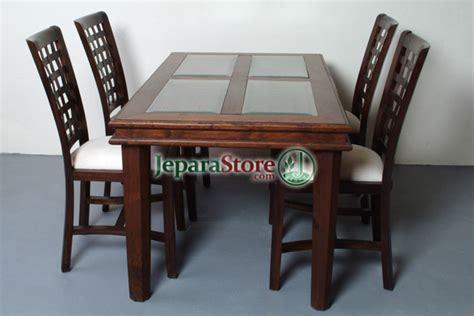 Meja Makan Anyaman kursi makan minimalis anyaman jeparastore