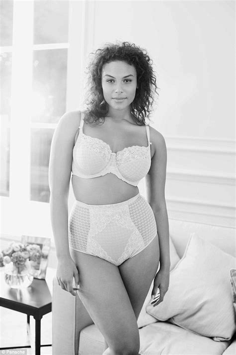fifty plus wife tube role models pose in underwear for lingerie brand panache s