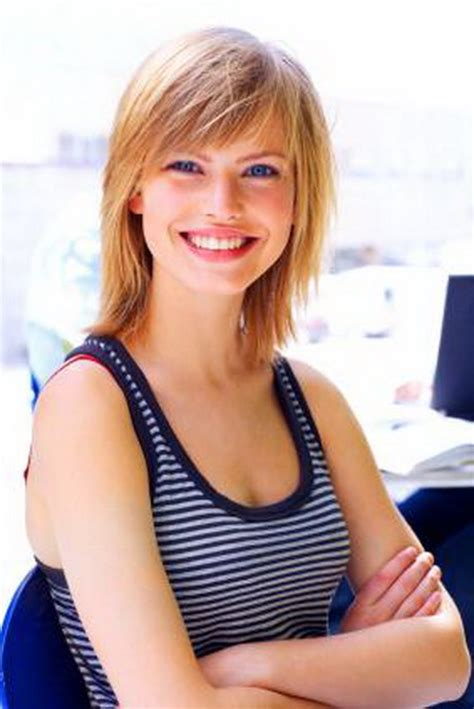 pic long bob with razor ends medium length razor cut hairstyles