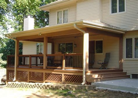 How To Convert A Deck Into A Covered Porch Homeyou