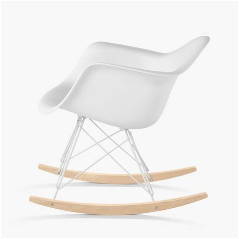 molded plastic armchair rocker eames molded plastic armchair rocker base by charles