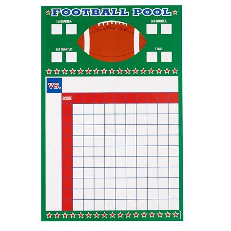 football pool template printable football pool master sheet template spreadsheet