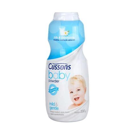 Bedak Bayi Cussons jual cussons baby mild gentle baby powder bedak bayi