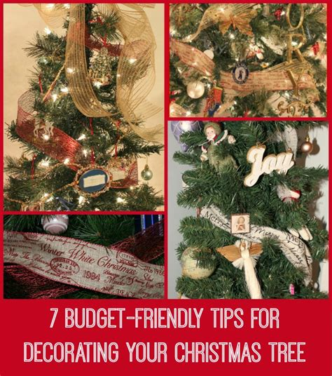 7 budget friendly tips for decorating your christmas tree