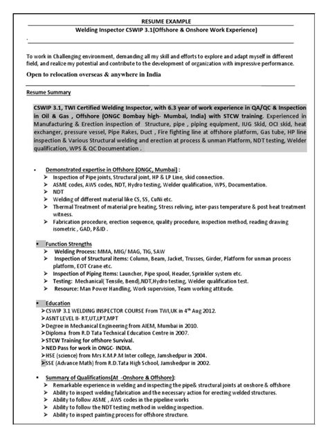 crane engineer sle resume front desk administrator cover letter steel worker sle resume