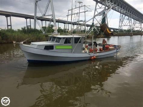 used shrimp boats for sale 1981 used glass bay 42 shrimp boat commercial boat for