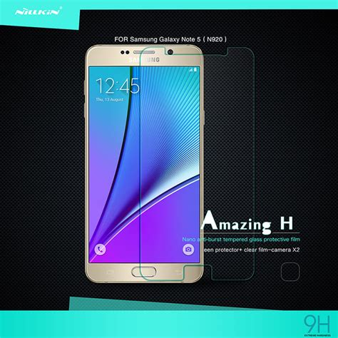 Nillkin Samsung Galaxy Note 5 Anti Glare Screen Guard Protector Kuat nillkin matte screen protector galaxy note 5 in pakistan