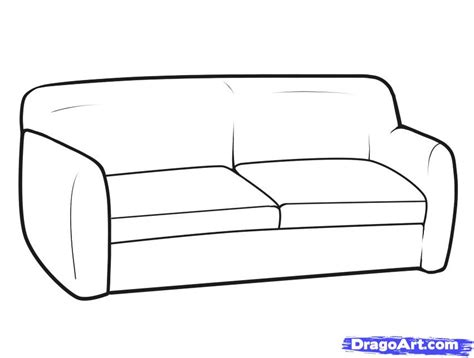 how to draw a recliner chair step by step step 6 how to draw furniture