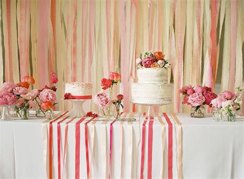 diy wedding table backdrop ideas a coral pink diy wedding where the made own dress by ckb photography part 2