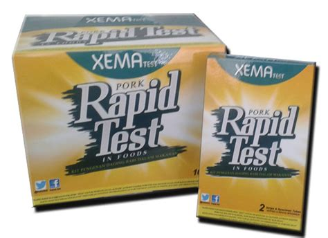 Alat Rapid Tes rapid pork food test alat pengesan dna babi cik siti