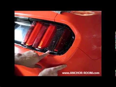 light tint installation 2015 2017 mustang light vinyl tint installation