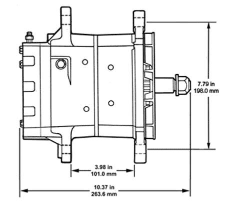 delco remy 35si alternator wiring diagram delco remy